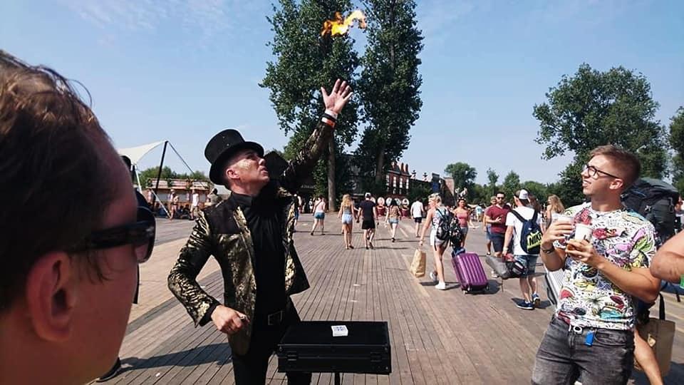 Sfeerbeeld Armand Magic - Bekende Brugse goochelaar & mentalist